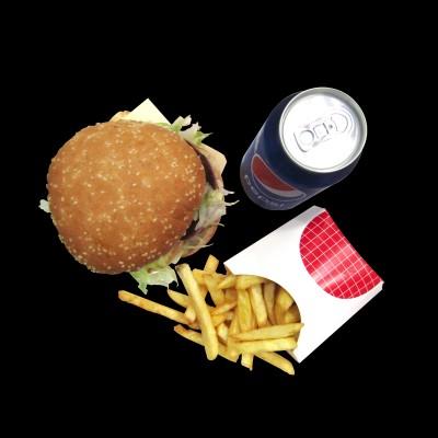 Menú Hamburguesa Doble